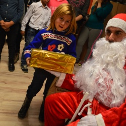 Rumunia. Rozdawanie prezentów w 2017 r.