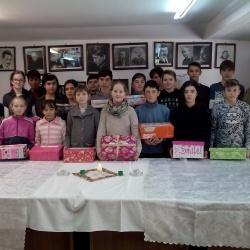Rumunia, Brasov. Rozdawanie prezentów 2017.